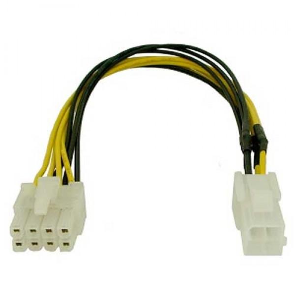 Καλώδιο αντάπτορας τροφοδοσίας 4-pin σε 8-pin για μητρική μήκος 20 εκ.