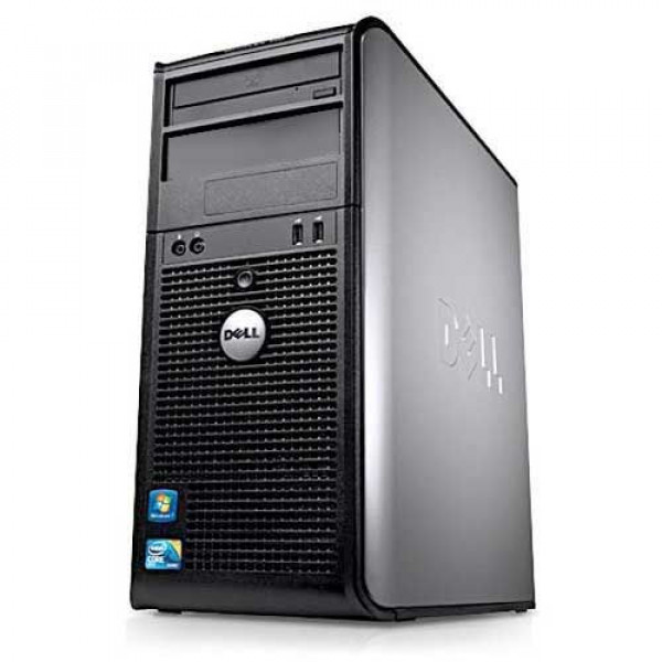 DELL Optiplex 760 Core 2 Duo E7600/4GB/160GB/DVD-RW Refurbished PC