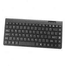 Mini Πληκτρολόγιο ενσύρματο HVT JK-680 GR USB Black 18262