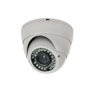 Κάμερα Dome Υβριδική AHD / CVI / TVI / CVBS 4 τεχνολογίες σε 1 κάμερα με φακό Varifocal 2.8 - 12mm και ανάλυση 1MP