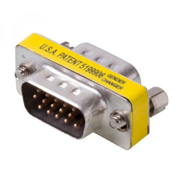 Equip Μετατροπέας VGA D15HD αρσενικό M/M 15pin Gender Changer 124320