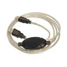 Καλώδιο δικτύου USB 2.0 Easy Link Network Plug n Play 2m Wiretek WLKB4