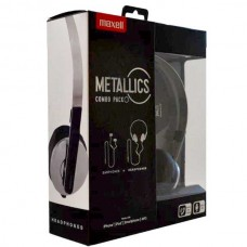 Maxell Metallics Combo Pack 2x ακουστικά με ενσωματωμένο μικρόφωνο, handsfree