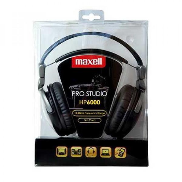Maxell Pro Studio HP6000 HQ ακουστικά με καλώδιο 5m