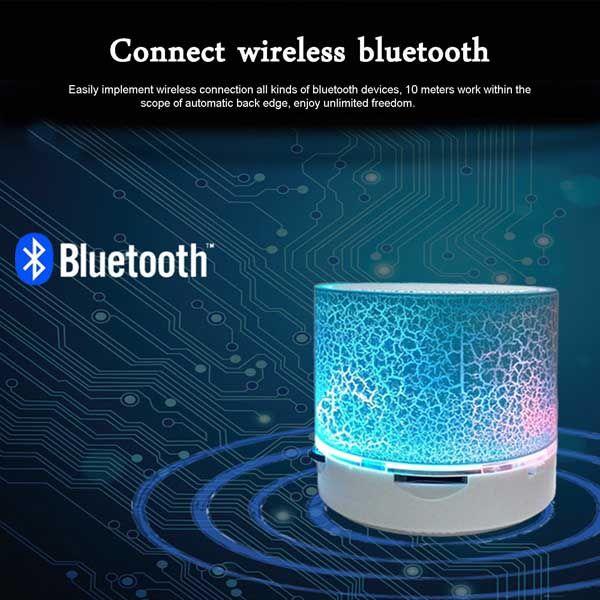 Φορητό ηχείο Bluetooth με MP3 player USB & Micro SD για Smartphone ή Tablet και λειτουργία ανοιχτής ακρόασης