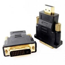 Μετατροπέας DVI-D 24+1 Αρσενικό σε HDMI Αρσενικό adapter converter