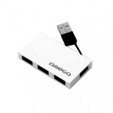 USB 2.0 Hub 4 Ports Ωmega (σε 2 χρώματα) OUH24BBW