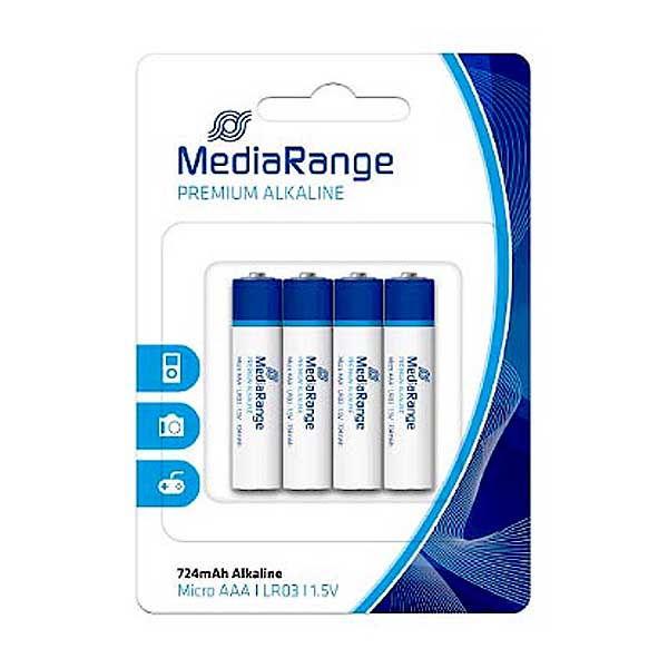 Μπαταρίες MediaRange AAA LR3 4τεμ.