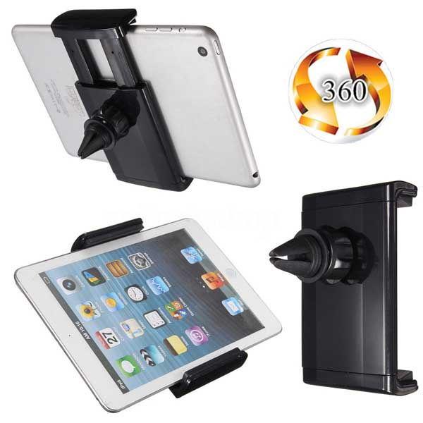 Βάση στήριξης στον αεραγωγό του αυτοκινήτου για Tablet 7 ή 8 ίντσες IPad, Samsung Galaxy κλπ