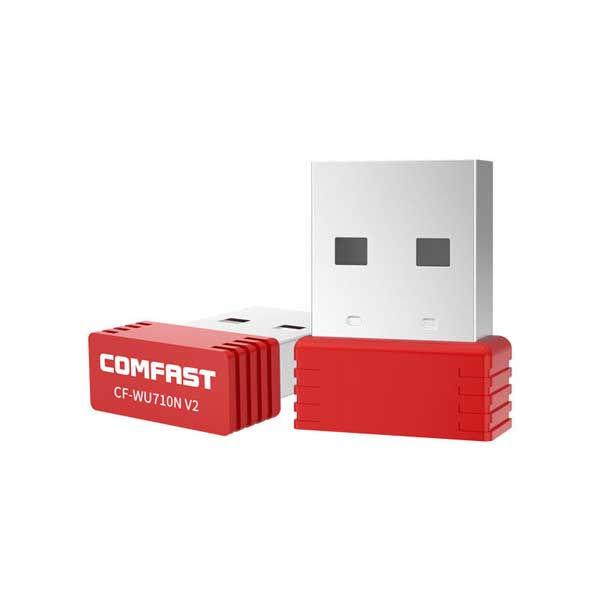 Comfast CF-WU710N V2 Nano Mini 150Mbps USB WiFi Wireless Network Lan Adapter MT7601 802.11n