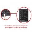 Πληκτρολόγιο Ασύρματο HVT XL-KB006 με Touchpad 2.4G για Smart TV black 18267