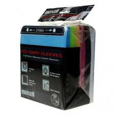 Maxell CD/DVD 120 Χρωματιστά φακελάκια (240discs) 2 Holes 303428.00.CN