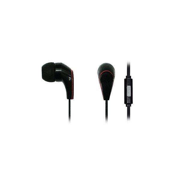 Ακουστικό με μικρόφωνο Handsfree για Smartphone σε Λευκό ή Μαύρο χρώμα HVT AEP15A