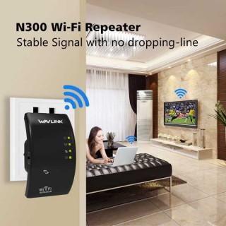 Αναμεταδότης WiFi N 300Mbps Wavelink Wireless Range Router Repeater Extender Booster