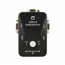 KVM Switch επιλογέας VGA για 2 PC & USB KVM21UA