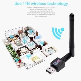 Mini 300mbps USB WiFi Wireless Network Lan Adapter Router AP Realtek 802.11n