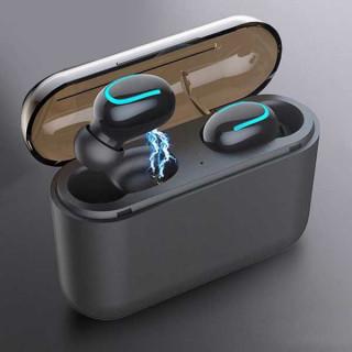 Bluetooth 5.0 ασύρματα ακουστικά με μικρόφωνο HQB - Q32 TWS In-ear για Smartphone, iPhone