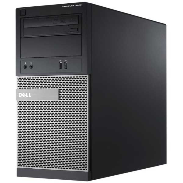 DELL Optiplex 3010 MT Intel Core i3-3220, 4GB, 250GB, DVD-RW, Refurbished PC