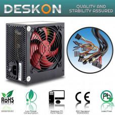 Τροφοδοτικό Deskon 550W ATX 12cm Ultra Silent Black