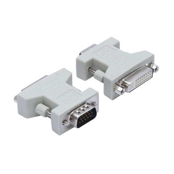 Μετατροπέας DVI-I Dual Link 24+5pin Θηλυκό σε VGA SVGA HD15 Αρσενικό
