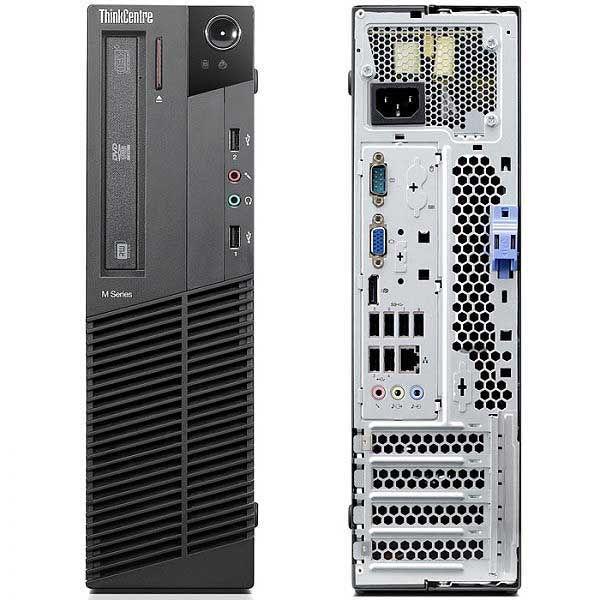 Lenovo ThinkCentre M81 SFF Intel Core i5-2400, 4GB, 250GB, DVD-RW Win7 Refurbished PC