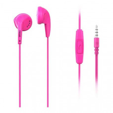 Maxell handsfree ακουστικά Ear buds EB-95 & mic σε λευκό μπλε ή φούξια χρώμα