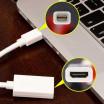 Μετατροπέας Mini Display Port DP σε HDMI Adapter Converter για Macbook, PC, HDTV