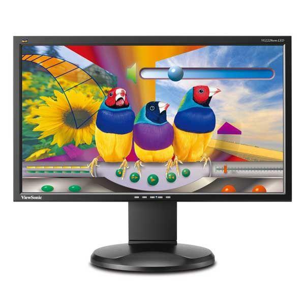 Οθόνη LED 22 ιντσών ViewSonic VG2228vm Full HD 1080p Multimedia Used Monitor μαύρη