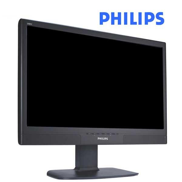 Οθόνη TFT 24 ιντσών Philips 240BW8 Wide Used Monitor Multimedia μαύρη