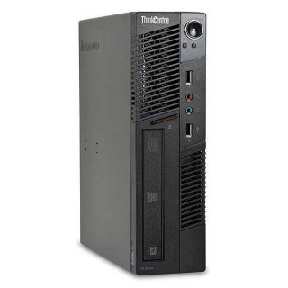 Lenovo ThinkCentre M91 USFF Intel Core i3-2120, 4GB, 250GB, DVD-Rom Win7 Refurbished PC