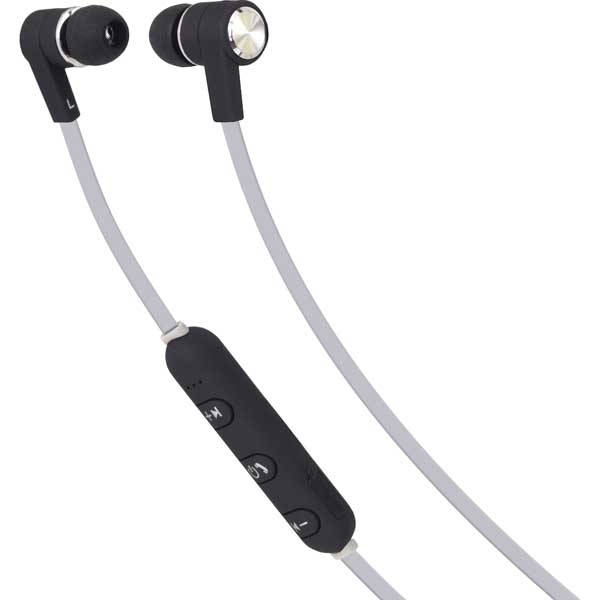 Ακουστικά Bluetooth με μικρόφωνο Maxell B13-EB2 Bass 13 BT Μαύρο Λευκό