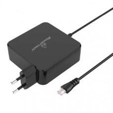 Τροφοδοτικό Universal για laptop 15V έως 20V, 2.1A έως 4.74A 90W AC POWERTECH PT-698 χωρίς βύσματα