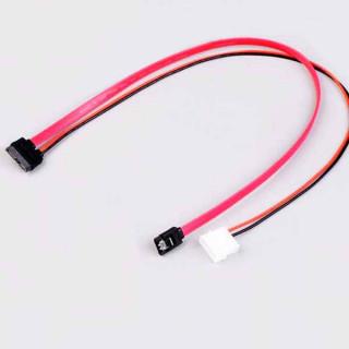 Καλώδιο 7+6 Pin slimline sata για slim laptop DVD+/-RW Drive σε PC με παροχή ρεύματος
