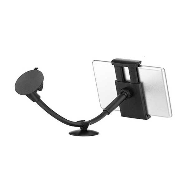 Βάση στήριξης για τζάμι αυτοκινήτου με βεντούζα για tablet ή smartphone από 14cm έως 19cm