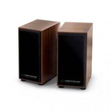 Esperanza Folk Ηχεία 2.0 Channel 6w RMS USB EP122 ξύλινα 14653