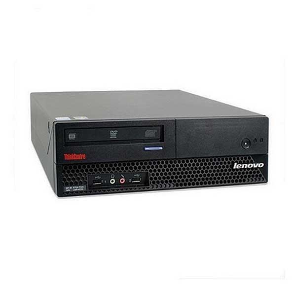 Lenovo ThinkCentre M57 SFF Intel Core 2 Duo E6550, 4GB, 160GB, DVD-Rom Win7 Refurbished PC