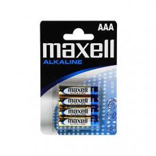 Μπαταρίες Maxell Alkaline AAA LR3 4pack