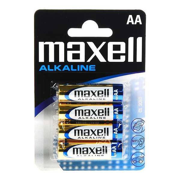 Μπαταρίες Maxell Alkaline AA LR6 4pack