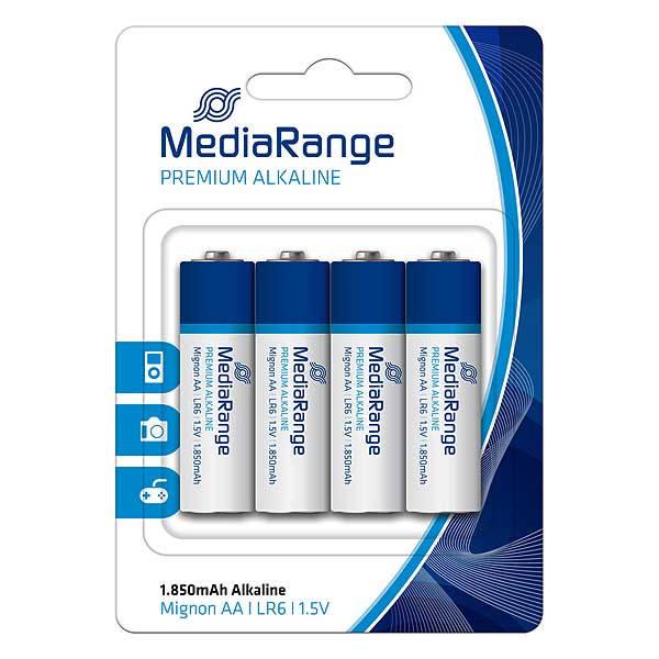 Μπαταρίες MediaRange AA LR6 4τεμ.