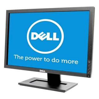 Οθόνη TFT 20 ιντσών DELL E2009WT Wide Used Monitor μαύρη