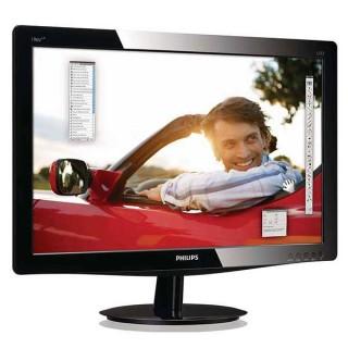 Οθόνη LED TFT 19 ιντσών PHILIPS 196V3L Wide Used Monitor μαύρη