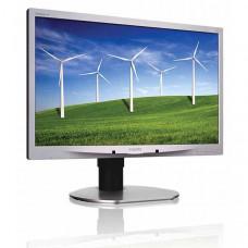 Οθόνη LED 22 ιντσών Philips 220B4L Multimedia Wide Used Monitor μαύρη-ασημί