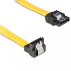 Καλώδιο Σύνδεσης Sata 3 Δίσκων 0,5m 90°