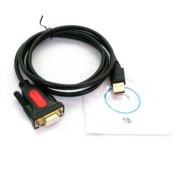 Καλώδιο USB 2.0 σε RS-232 Serial 9pin DB9 Θηλυκό 1.5m