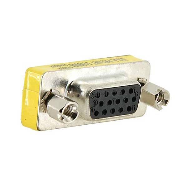 Powertech Μετατροπέας VGA D15HD 15pin θηλυκό σε 15pin θηλυκό CAB-G005