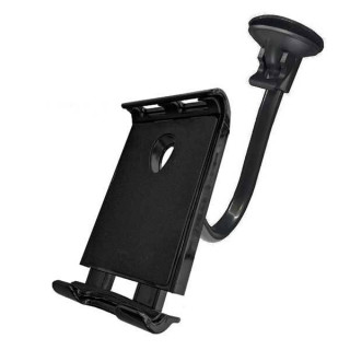 Βάση στήριξης για τζάμι αυτοκινήτου με βεντούζα για tablet 7, 8, 9, 10 ίντσες από 11.5cm έως 19cm