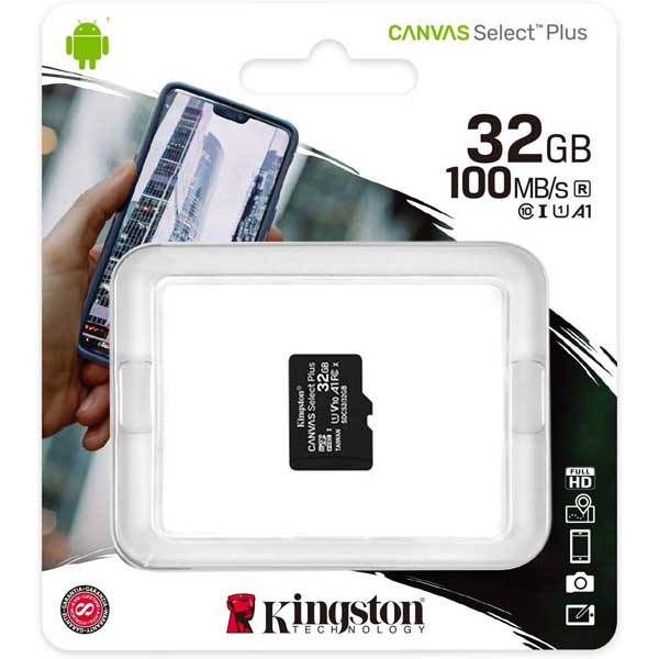 Κάρτα Μνήμης Kingston Micro SDHC 32GB Canvas Select