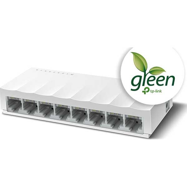 Switch Tp-Link LS1008 v1.0, 8 Port 10/100Mbps