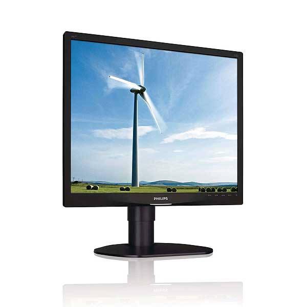 Οθόνη LED TFT 19 ιντσών PHILIPS 19S4L Multimedia Used Monitor μαύρη