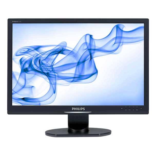 Οθόνη TFT 24 ιντσών Philips 240S1 Used Monitor μαύρη